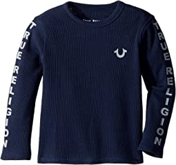 True Religion Kids - Graphic Long Sleeve Tee (Toddler/Little Kids)