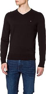 Tommy Hilfiger Men's Organic Cotton Blend V Neck Sweater