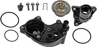 APDTY 013971 Complete Upper & Lower Thermostat Water Outlet Housing Kit Fits V6 4.0L Engine ONLY 2002-2010 Ford Explorer & Mercury Mountaineer (Replaces 2L2Z8592BA, 2L2Z8592BB, 6L2Z8592FA)