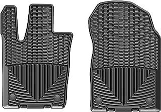 WeatherTech W399 Front Rubber Mats Grid Cherokee 16+ Black