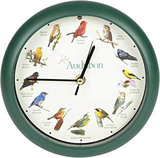 Mark Feldstein & Associates Audubon Singing Bird Clock, 8
