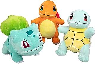 Pokémon Plush Starter 3 Pack - Charmander, Squirtle & Bulbasaur 8