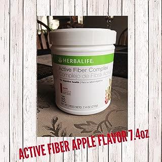 New ACTIVE FIBER APPLE FLAVOR 7.4oz HERBALIFE
