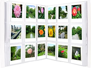 Sunmns 288 Pockets Clear Mini Photo Album for Fujifilm Instax Mini 9 8 90 8+ 7s 25 26 50s 70 Film