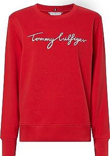 Tommy Hilfiger Regular Graphic C-NK Sweatshirt Maillot de survêtement Femme