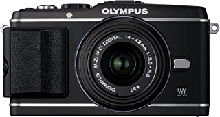 Olympus PEN E-P3 12.3 MP Live MOS Mirrorless Digital Camera with 14-42mm Zoom Lens (Black) (Old Model)