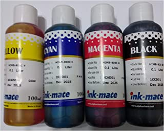refill ink 4 color for cartridge printer