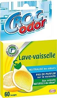 Croc'Odor - Désodorisant lave vaisselle Citron