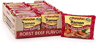 Maruchan Ramen, Roast Beef, 3-Ounce Packages (Pack of 24)