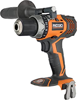 Ridgid Fuego R86008 18V Lithium Ion 1650 RPM Cordless Compact 2 Speed Drill/Driver with LED Grip Light and Keyless Chuck (Battery Not Included, Power Tool Only)