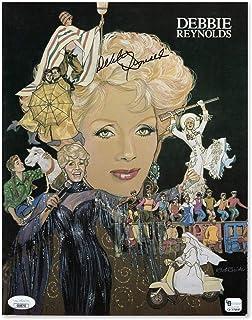 Debbie Reynolds Signed Autographed Program Hollywood Legend JSA GG68793