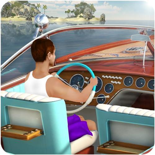 Simulador de barco de conducción
