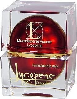 Lycopene Skin Care–Lycopene Crema Rinnovante–Anti-Aging Cream, European Fashion Models Favorite with Astaxanthin, Hyaluronic Acid, Acmella Oleracea, Italian Formula with 20 Natural Organic Botanicals