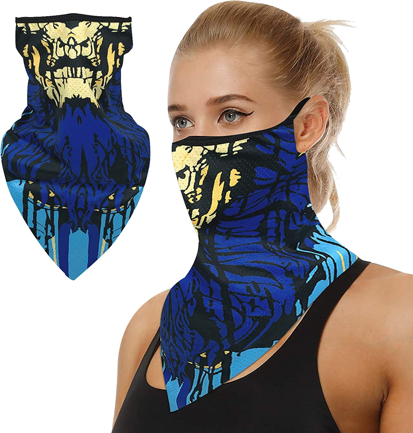 Bandana Mail order Face Scarf Spring new work Reusable Washable Neck Wom Cover Gaiter Cloth