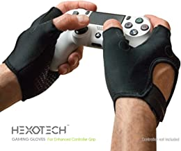 Foamy Lizard Gaming Gloves with Grip Hexotech Pro Gamer...