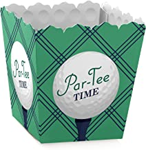 Par-Tee Time - Golf - Party Mini Favor Boxes - Retirement or Birthday Party Treat Candy Boxes - Set of 12