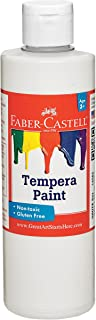 Faber-Castell Tempera Paints for Kids – Washable Paint – Made in the USA – White – 8 oz
