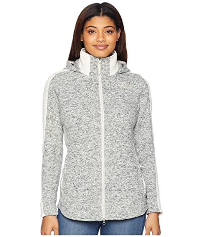 The North Face Indi Hooded Parka (Wild Oat Heather) Women