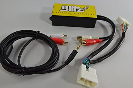 Blitzsafe HON/AUX DMX V.2X Auxiliary Audio Input Most 2003+ Honda and