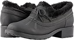 Black Rubberized Waterproof/Nubuck PU Waterproof/Faux Fur
