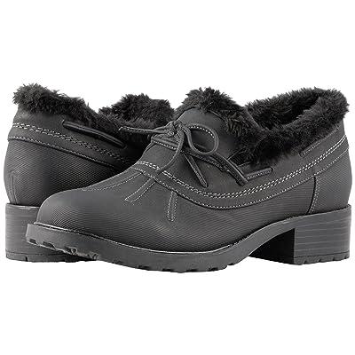 Trotters Brrr Waterproof (Black Rubberized Waterproof/Nubuck PU Waterproof/Faux Fur) Women