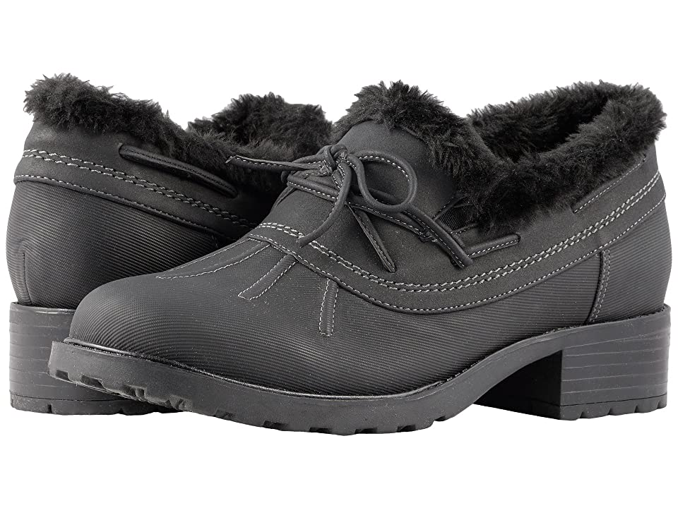 Trotters Brrr Waterproof (Black Rubberized Waterproof/Nubuck PU Waterproof/Faux Fur) Women