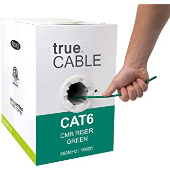 Belkin CAT6 1000-Foot Solid Bulk Cable White