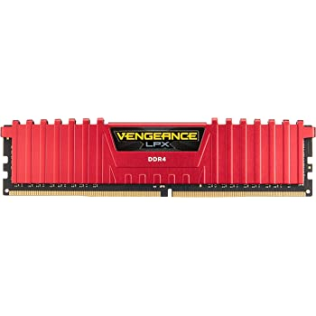 Corsair LPX 16GB DRAM 2400MHz C14 Memory Kit for Systems 16DDR4 2400 (CMK16GX4M2A2400C14R)