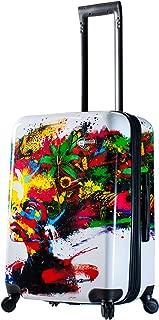 Mia Toro Italy-Prado-Beautiful Minds 24 Inch Spinner Luggage