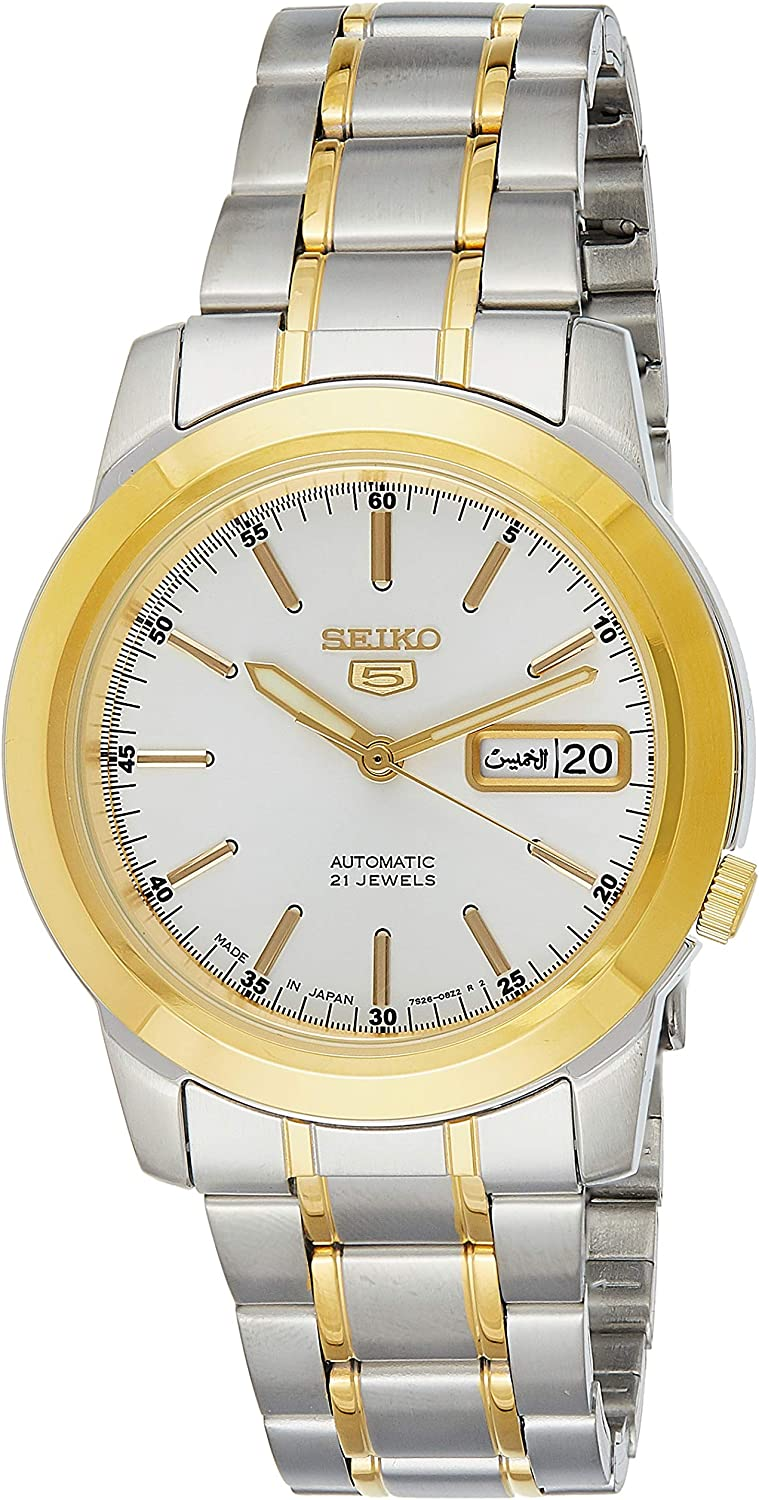 Ranking TOP7 Seiko Analog Business Max 65% OFF Automatic SNKE54J Mens 5