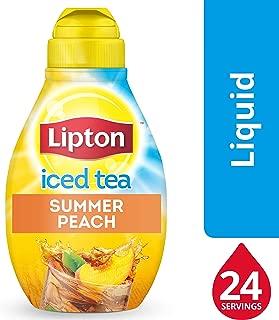 lipton peach mango tea caffeine
