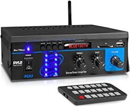 Home Audio Power Amplifier System – 2X75W Mini Dual Channel Sound Stereo Receiver..
