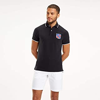 Tommy Hilfiger Men's Jacquard Tipped Badge Slim Polo