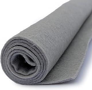 Grey - Silver Gray - Wool Felt Giant Sheet - 35% Wool Blend - 1 36x36 inch XXL Sheet