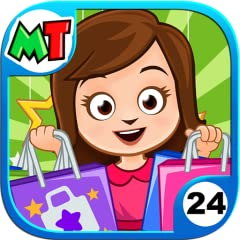 This game is connected to all our latest My Town games Santa is visiting the Mall, Come say Hello! 3 Floors of Mall Fun with ton's of stores to play with such as Cake store, Baby store, Mobile store, pets store, Music store and more... New characters...