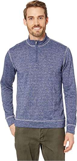 Heathered French Terry 1/4 Zip