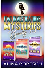 OWL Investigations Mysteries Books 1-3 (OWL Investigations Mysteries Box Sets Book 1) Kindle Edition
