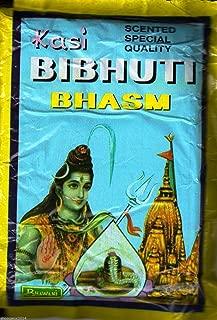 Siddhratan 100g x 2 Pack, Scented Vibhuti Powder Ceremonial mark at forehead puja Om Namah Shivaya Free 1 Rudraksha mala