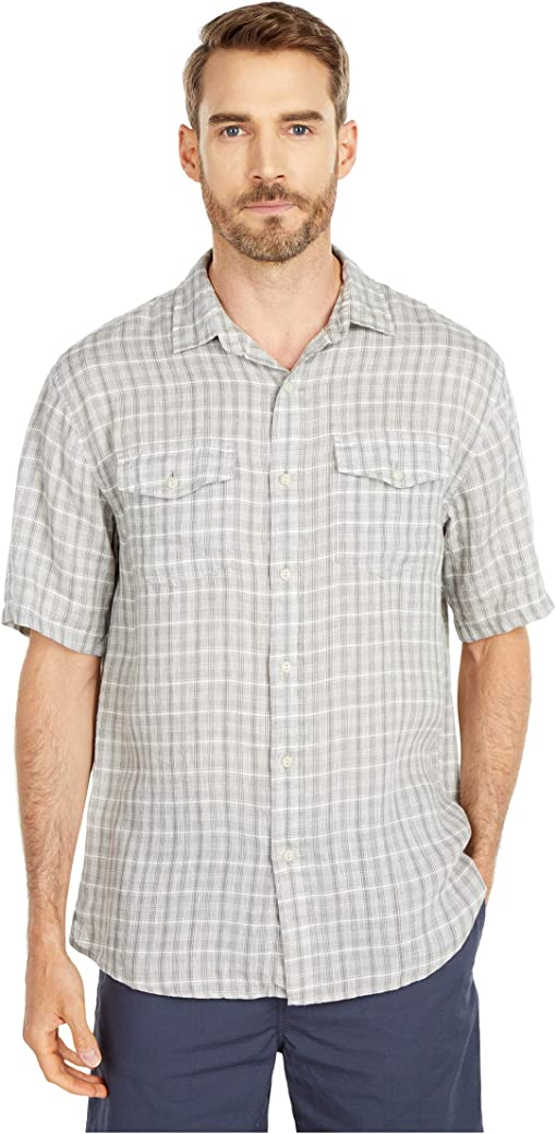 Grey/Ivory Plaid