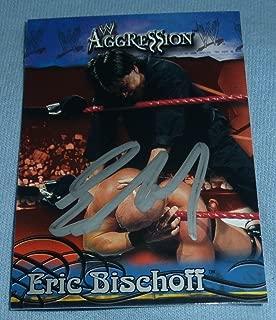 eric bischoff autograph