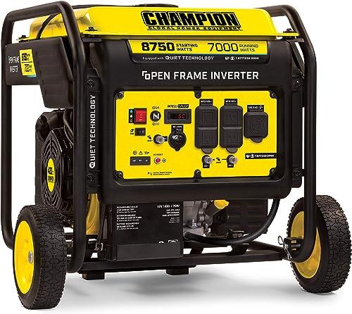 wholesale Champion high quality Power Equipment 100520 online sale 8750-Watt DH Series Open Frame Inverter, Electric Start outlet online sale