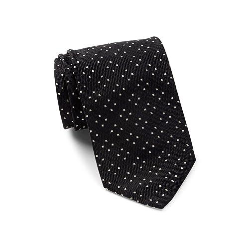 8e5558cd945a Boss Hugo Boss Geometric Patterned Italian Silk Tie, Black 50299433