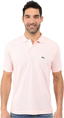 50cf1cf032 Lacoste yazbukey short sleeve solid polo | Shipped Free at Zappos