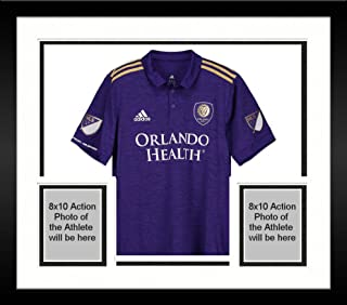 Framed Carlos Ascues Orlando City SC Autographed Match-Used Purple #26 Jersey vs. Philadelphia Union on September 1, 2018 - Fanatics Authentic Certified