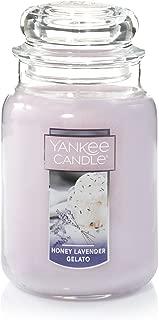 Yankee Candle Company HONEY LAVENDER GELATO, Large Jar, Purple, 6 Piece