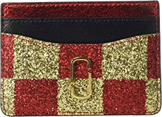 Marc Jacobs Womens Snapshot Checkerboard Card Case