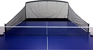 iPong Carbon Fiber Table Tennis Ball Catch Net - Practice Net Attaches to Ping Pong Table for Ball Collection During Table Tennis Robot, Serve or Multi-Ball Training