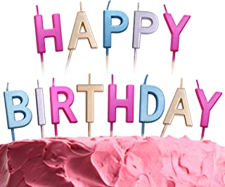 Best letter shaped birthday candles Reviews