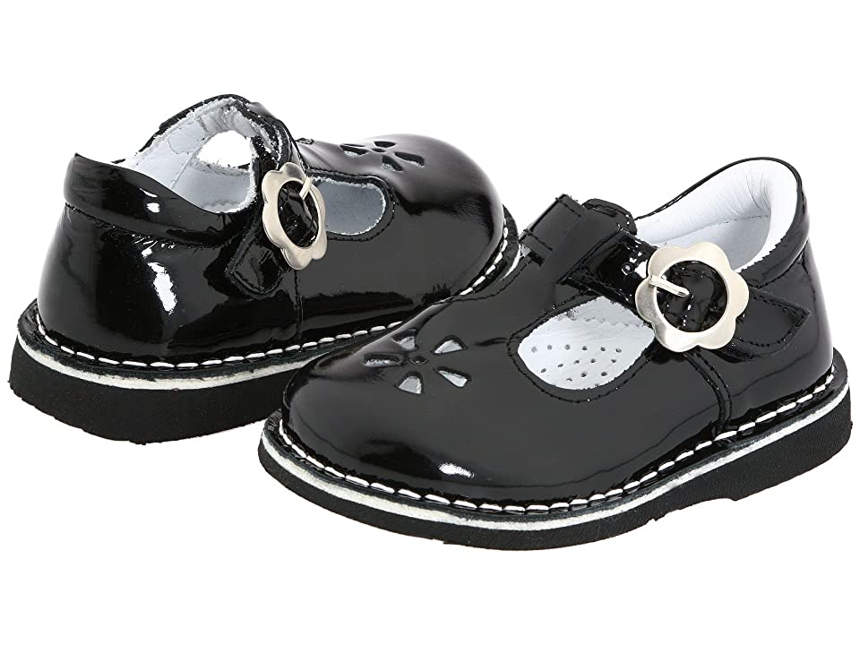 Kid Express Molly (Toddler/Little Kid/Big Kid) (Black Patent) Girls Shoes