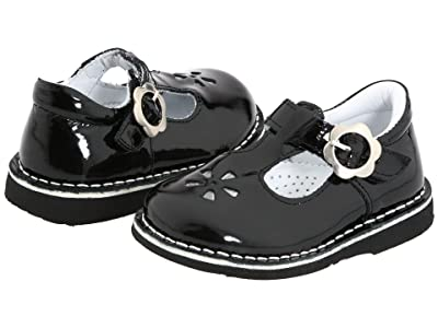 Kid Express Molly (Toddler/Little Kid/Big Kid) (Black Patent) Girls Shoes